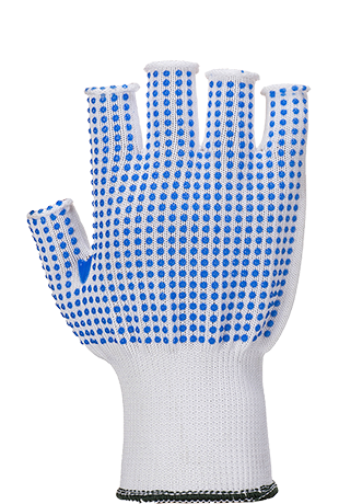 Portwest A114 Fingerless Polka Dot Glove