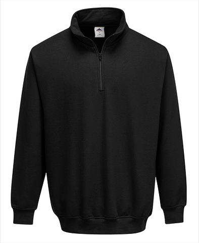 Portwest B309 Zip Neck Sweatshirt