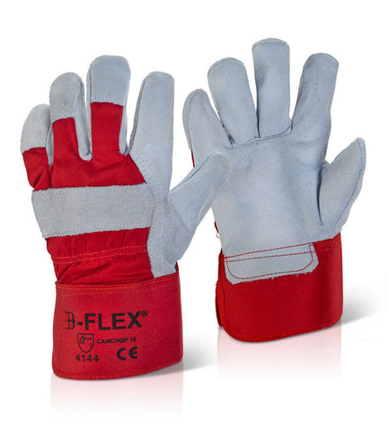 CANADIAN HIGH QUALITY RED RIGGER GLOVE   Pack of 100