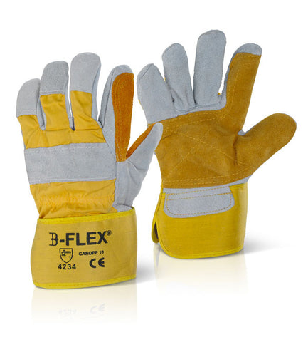 CANADIAN DOUBLE PALM HIGH QUALITY RIGGER GLOVE   Pack of 60