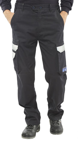 ARC FLASH FR TROUSERS NAVY BLUE
