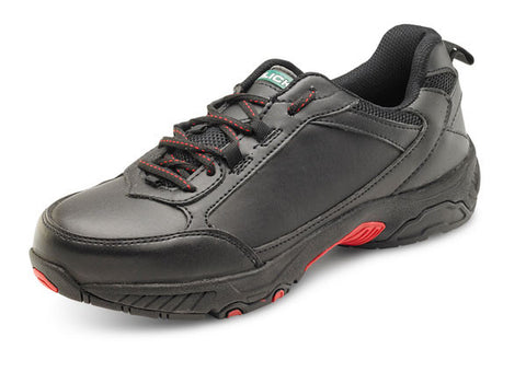 CLICK DOUBLE DENSITY TRAINER SHOE SBP BLACK