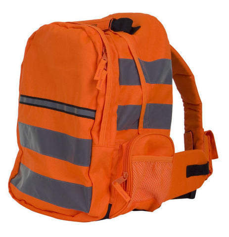 HI VIS RUCKSACK ORANGE