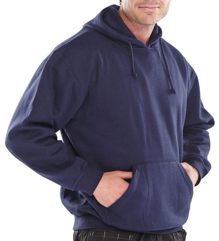 HOODED SWEATSHIRT NAVY BLUE