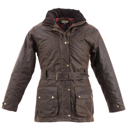 JCB LADIES ASCOT JACKET BROWN