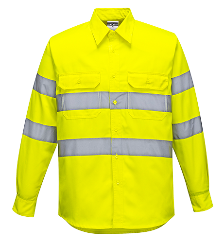 Portwest E044 Hi-Vis Work Shirt