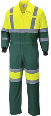 Portwest E052 Hi-Vis Coverall