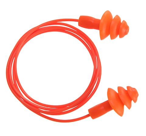 Portwest EP04 Reusable Corded Ear Plug (50)
