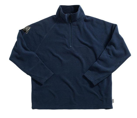 JCB 1/4 Zip Navy Fleece
