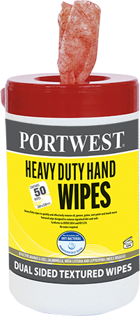 Portwest IW30 H/D Hand Wipes (Pk50)