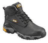 JCB 4X4 Waterproof Safety Boot, Black Brown and Honey
