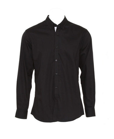 KK190 Men's Contrast Premium Oxford Shirt