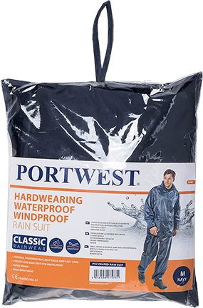 Portwest L440 PVC Coated Rain Suit