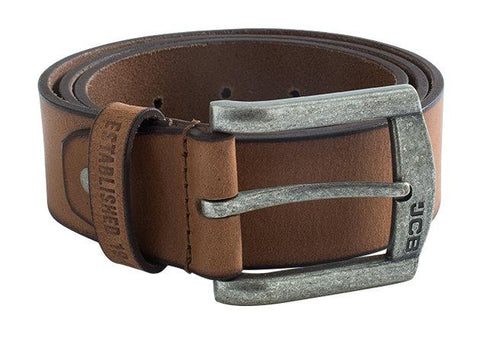 JCB Leather Belt