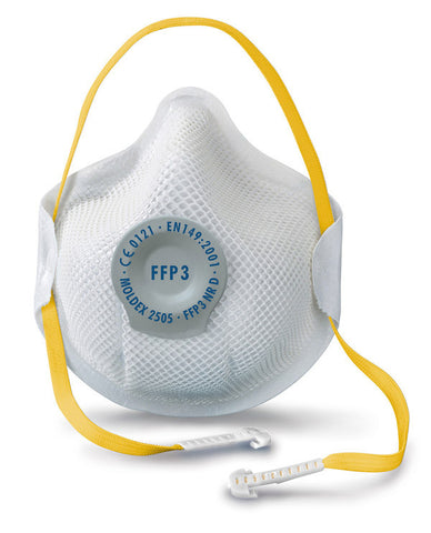 MOLDEX 2505 MASK FFP3V NR D Pack of 10