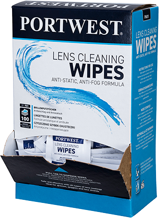 Portwest PA01 Lens Cleaning Towelettes