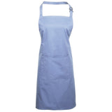 Premier PR154 'Colours' Bib Apron With Pocket