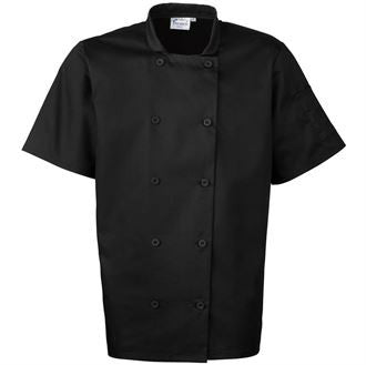 Premier PR656 Short sleeved chef's jacket