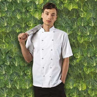 Premier PR662 Ambassador short sleeve chef's jacket