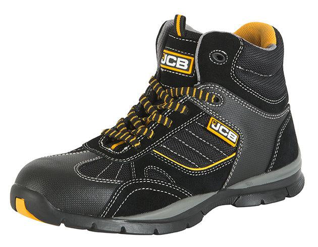 JCB Rock Hiker Black Boot Sbp