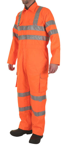 RAILSPEC COVERALL ORANGE