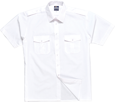 Portwest S101 Pilot Shirt Short Sleeve