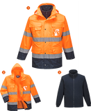 Portwest S162 Hi-Vis Lite 3in1 Jacket