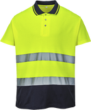 Portwest S174 2-Tone Cotton Comfort Polo
