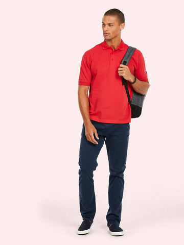 UC112 220GSM Cotton Rich Poloshirt