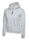 UC505 300GSM Ladies Classic Full Zip Hooded Sweatshirt
