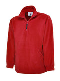 UC602 300GSM Premium 1/4 Zip Micro Fleece Jacket