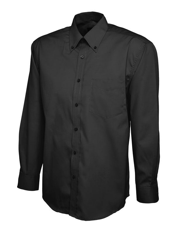 UC701 Mens Pinpoint Oxford Full Sleeve Shirt