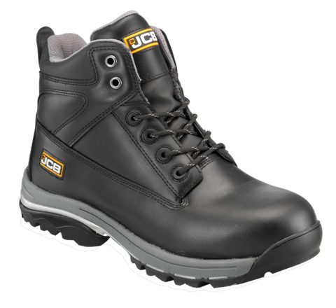 JCB Workmax Safety Boots, Black or Honey
