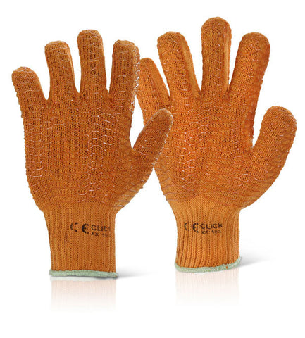 CRISS CROSS GLOVES ORANGE 10 Pack of 100