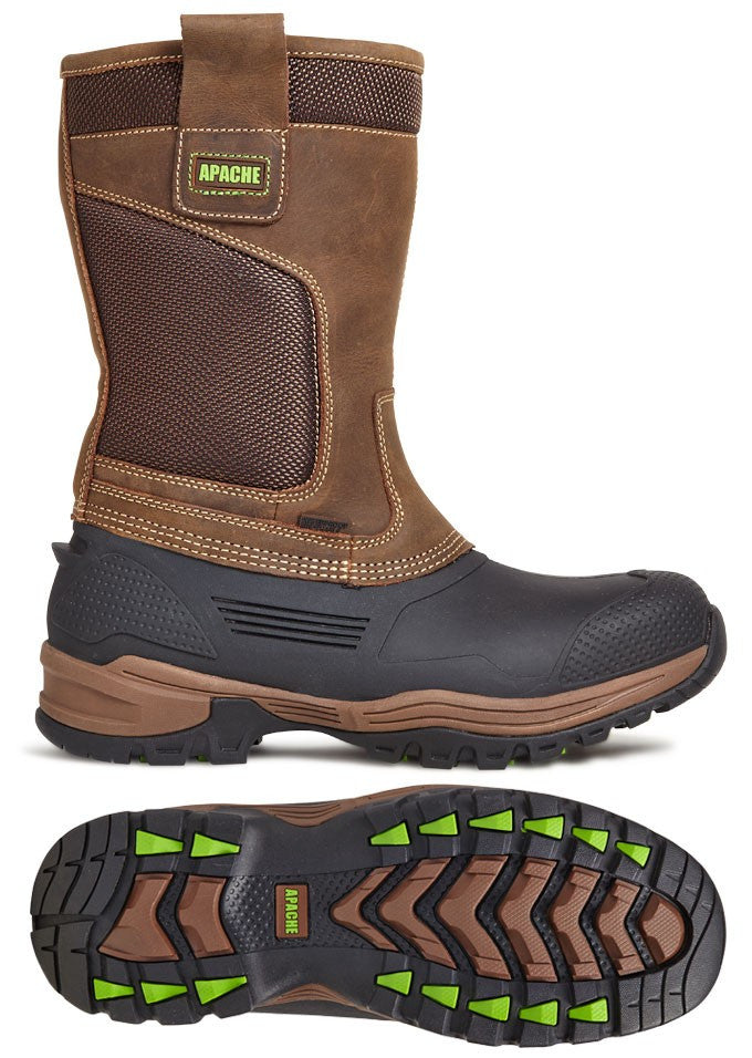 20ceb79e1c3 Apache Traction Waterproof Rigger Boot