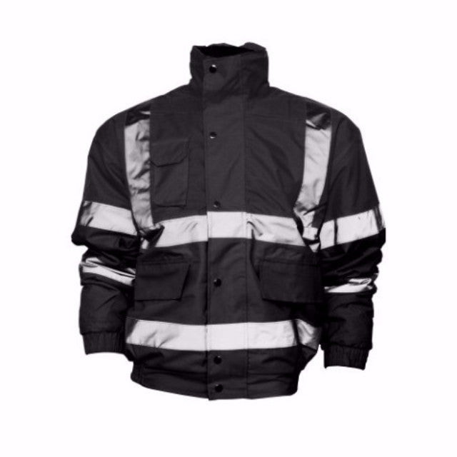 BOMBER JACKET WITH REFLECTIVE TAPE HPV211