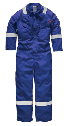 Dickies Pyrovatex® Coverall Royal Red