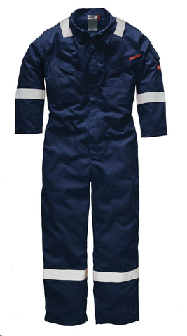 Dickies Pyrovatex® Antistatic Coverall Navy Orange