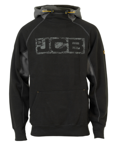 JCB Horton Hoodie D-WJ Size S-XXL in Sand Black and Navy