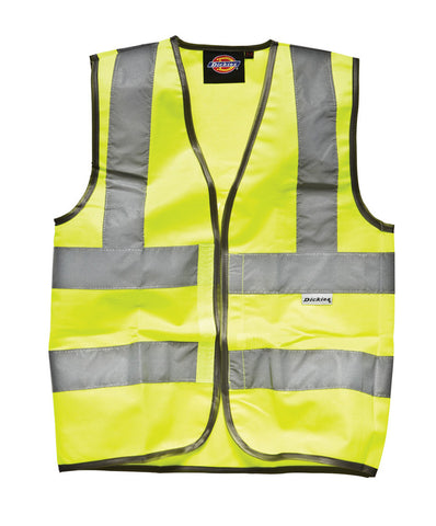 Dickies High Visibility Childs Waistcoat