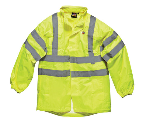 Dickies High Visibility Waterproof Light Weight Jacket