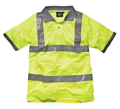 Dickies High Visibility Safety Polo Shirt