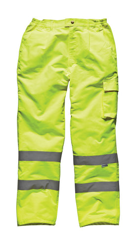 Dickies High Visibility Polycotton Trousers