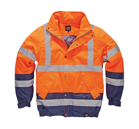 Dickies Hi Visibility Two Tone Pilot Jacket