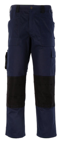 Dickies GDT290 Trouser Navy Green Royal White