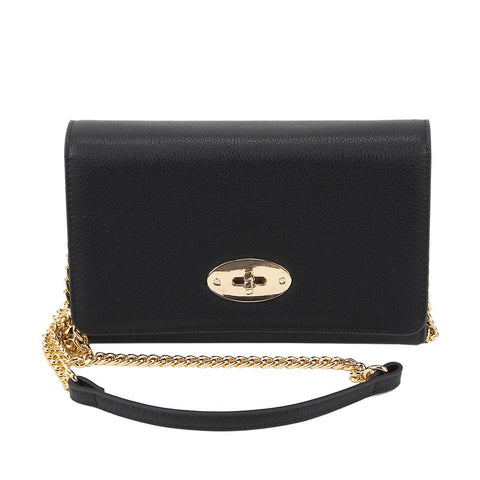 Chain Crossbody - Black