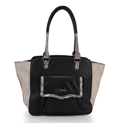 Thea Pocket Tote - Black