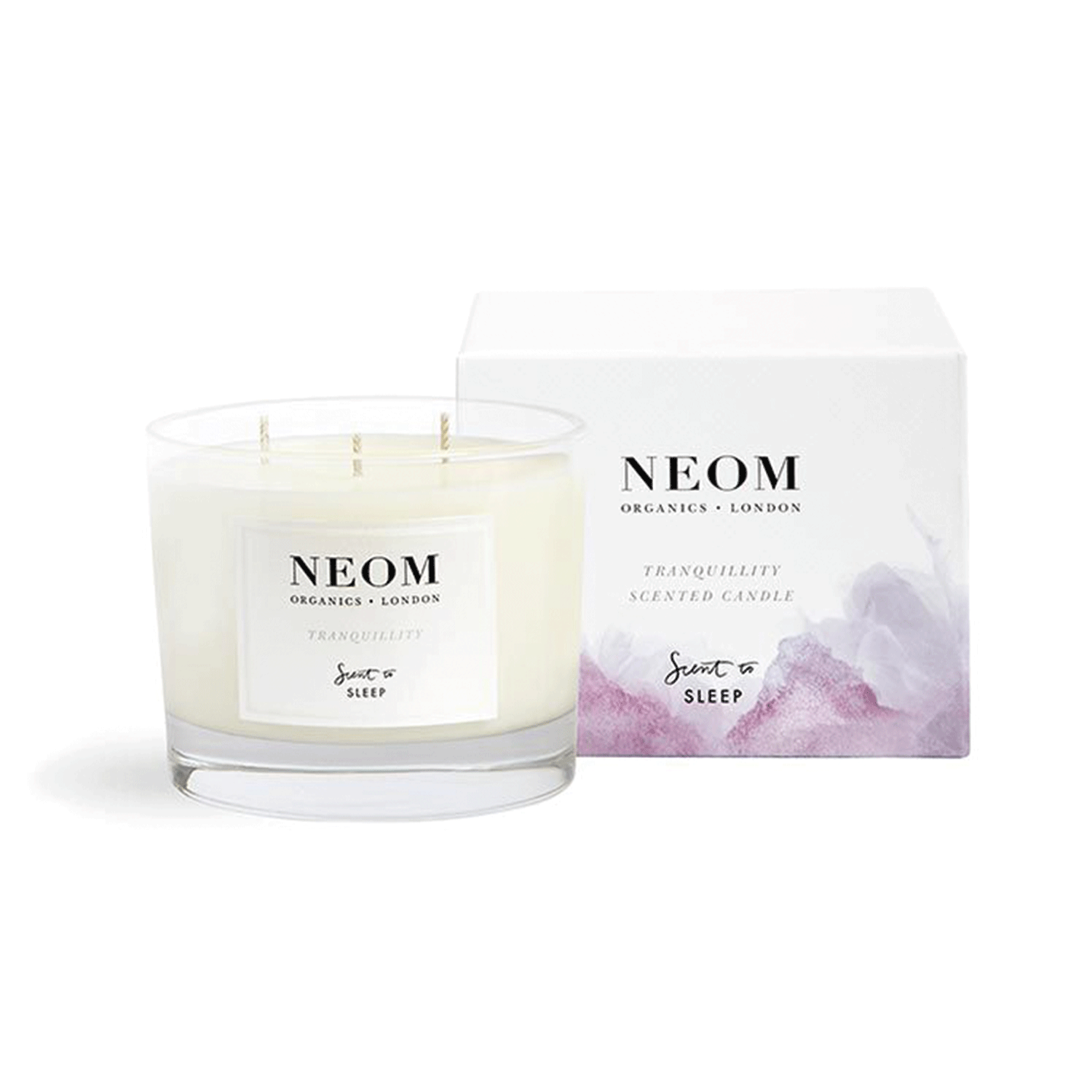 Buy Tranqulity 3 Wick Scented Candle from Neom Organics ...