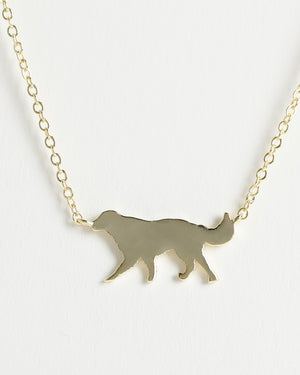 GOLDEN RETRIEVER Delicate Necklace
