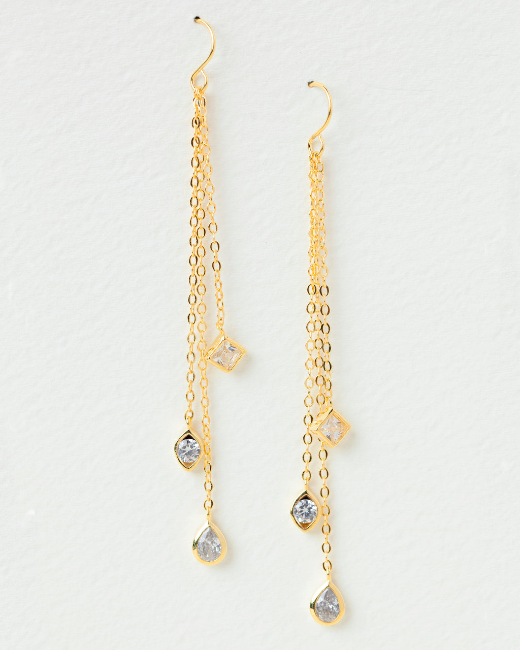 Kyra Cascading Drop Earrings